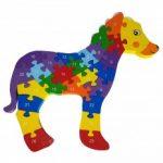 puzzle din lemn pentru copii